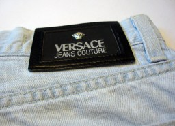 Upcycled Versace