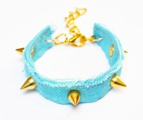 Turquoise Versace Spike Bracelet