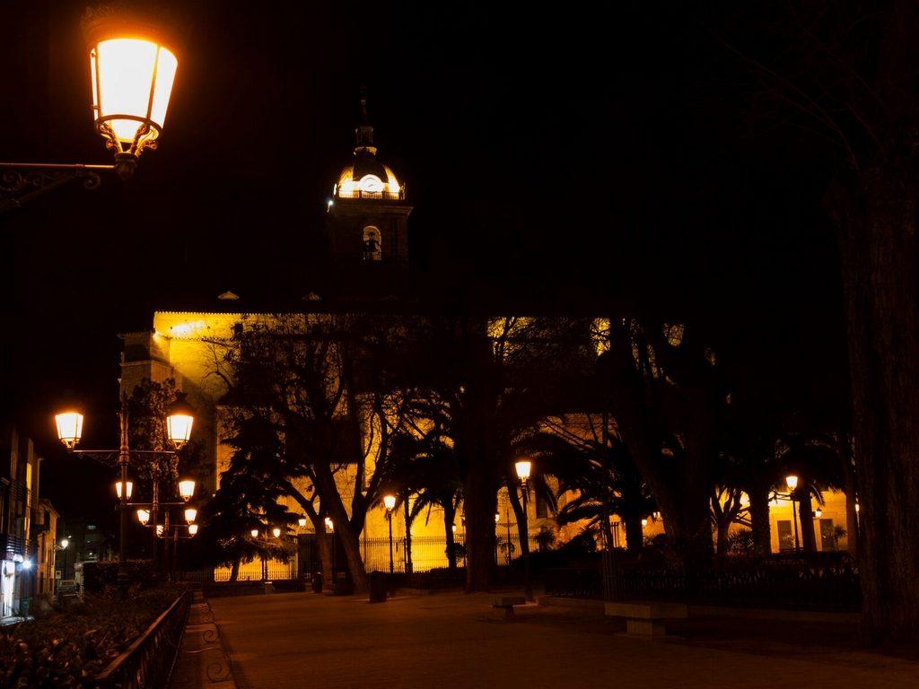 20 Paseo nocturno