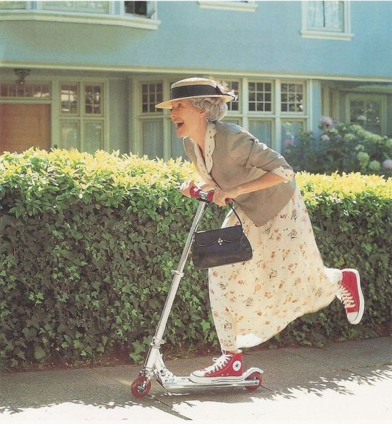 Instead of saving money for old age, it is Better to postpone old age. Posted By: Gella