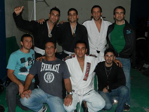 Jiu Jitsu: Medallas para Neptunia en Buenos. Aires.