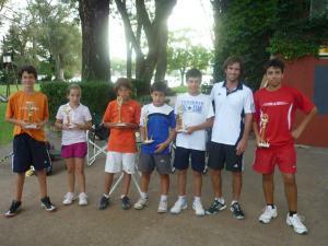 Tenis menores 2013