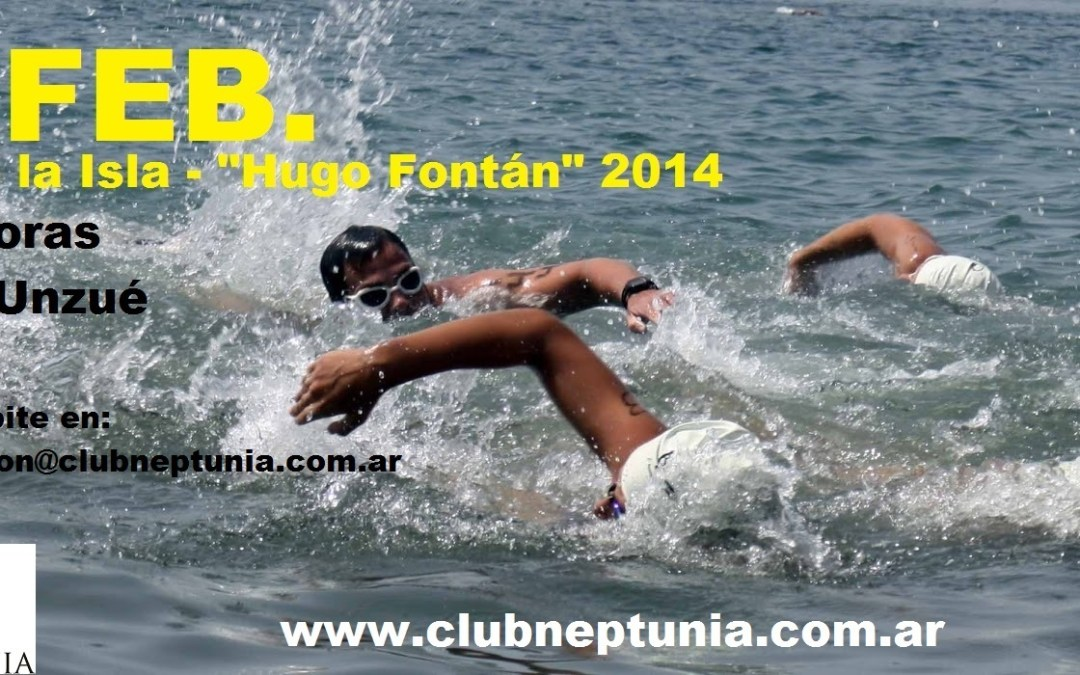 Natación: 22 de Febrero Vuelta a la Isla «Hugo Fontan» 2014