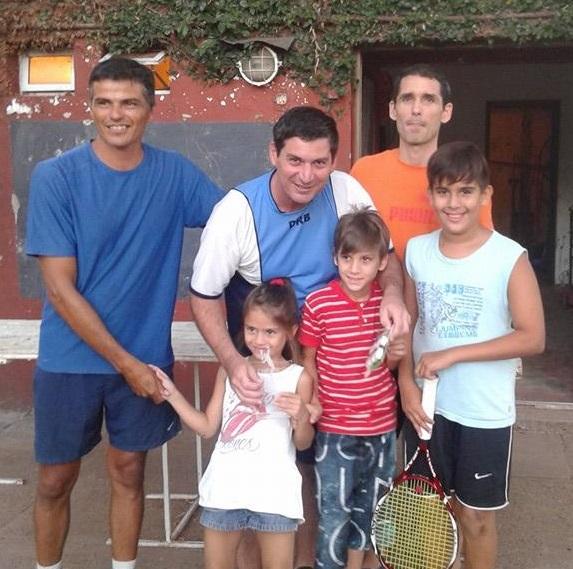 TENIS: GABAS, CABALLERO y ARRATE Campeones de la 1° Fecha