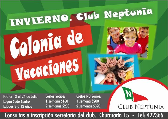 Vacaciones de Invierno en el Club Neptunia.