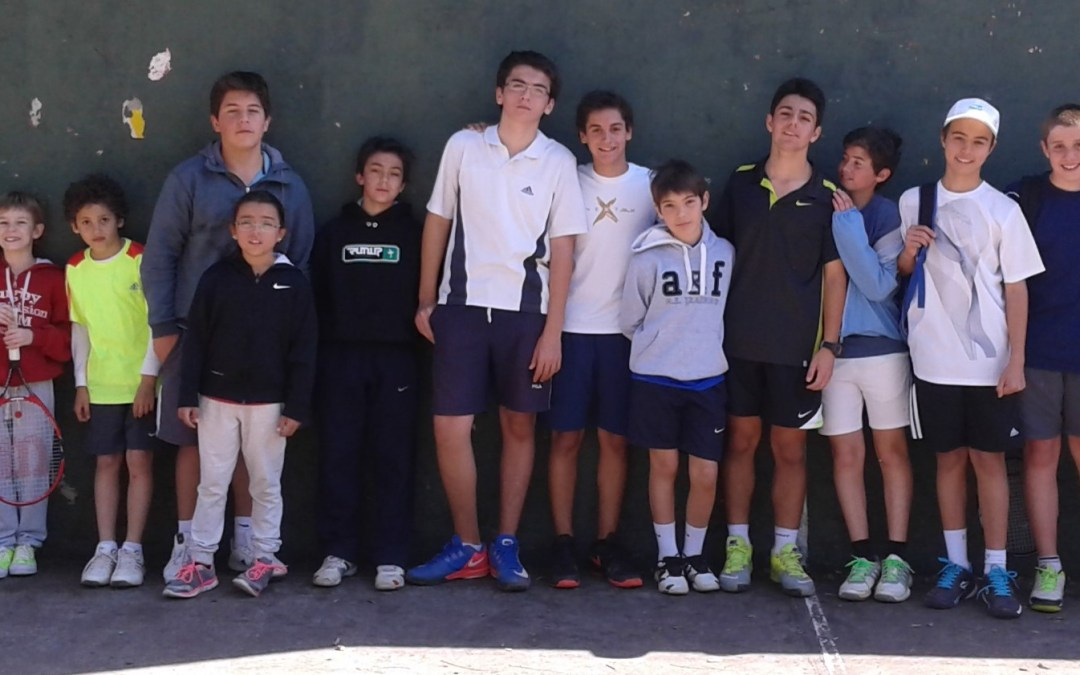 Tenis: Torneo Interno de Menores.