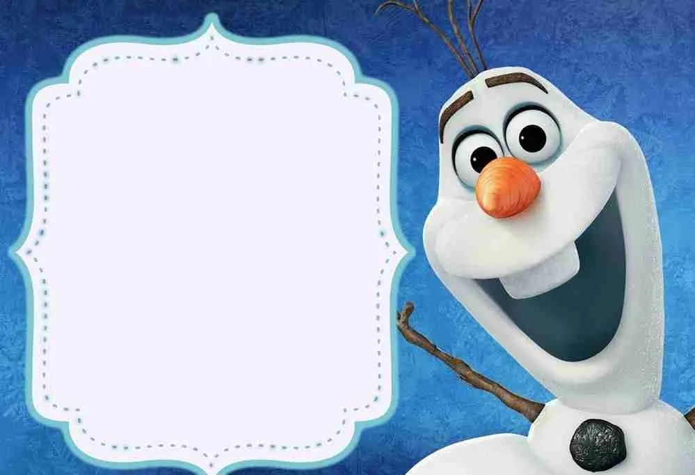 Frozen Birthday Invitations Free Printable Templates2018