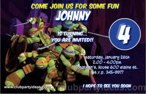 teenage mutant ninja turtles custom