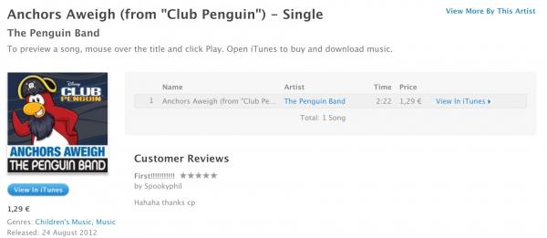 Club Penguin Anchors Aweigh