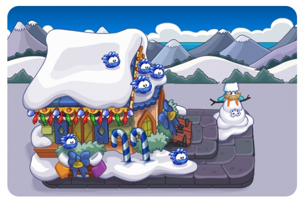 Club Penguin Merry Walrus Parade 2014