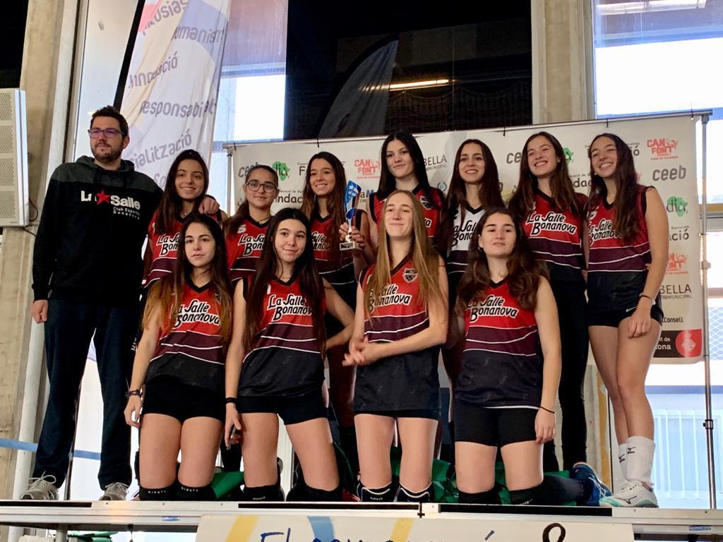 El Juvenil De Voleibol Guanya La COPA De Barcelona