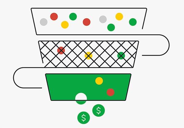 Ванналық сату үшін Excel немесе Google парақтарын пайдалану