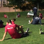 La primera plantilla estrena la semana con vídeo y físico en el parque de Vioño