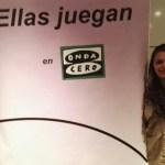 Presencia de las #GuerrerasSilvistas en la presentación de 'Ellas también juegan'