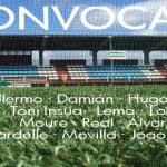 Convocatoria jornada 37: Silva SD – CD Choco