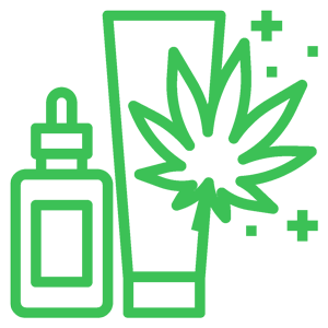 other cannabis products at Club Sky High include lotions, patches, and  medical grade tinctures and oils.