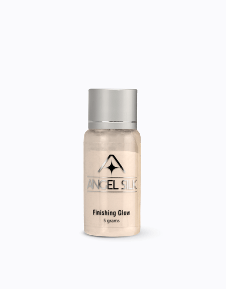 An image of a bottle of Angel Silk finishing glow (5 grams)