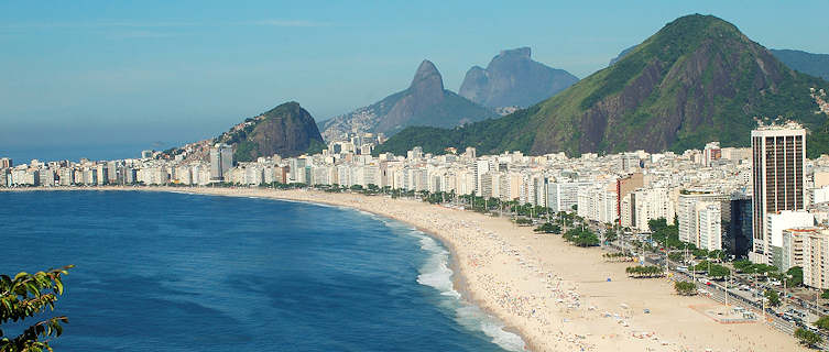 Beaches of Copacabana and Ipanem