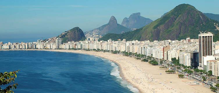 Beaches of Copacabana and Ipanem