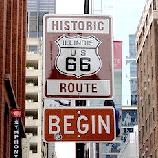 Beginning-of-Route-66-Chicago