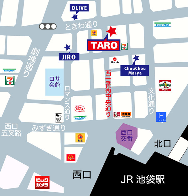 TARO地図