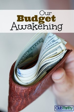 For years, we spent money without thinking about where it was going. Here is the story of our budget awakening and how it pointed us toward financial peace.