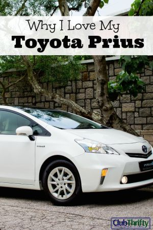 Sure, I may look like a dweeb...but at least I am saving tons on gas money! This is the story of how I came to love my Toyota Prius.