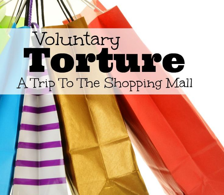Voluntary Torture: A Trip to Our Local Shopping Mall