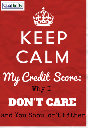 Worried about your credit score? Don't be. The credit score is one of the most deceptive tactics that lenders use to control your behavior. Here's why.