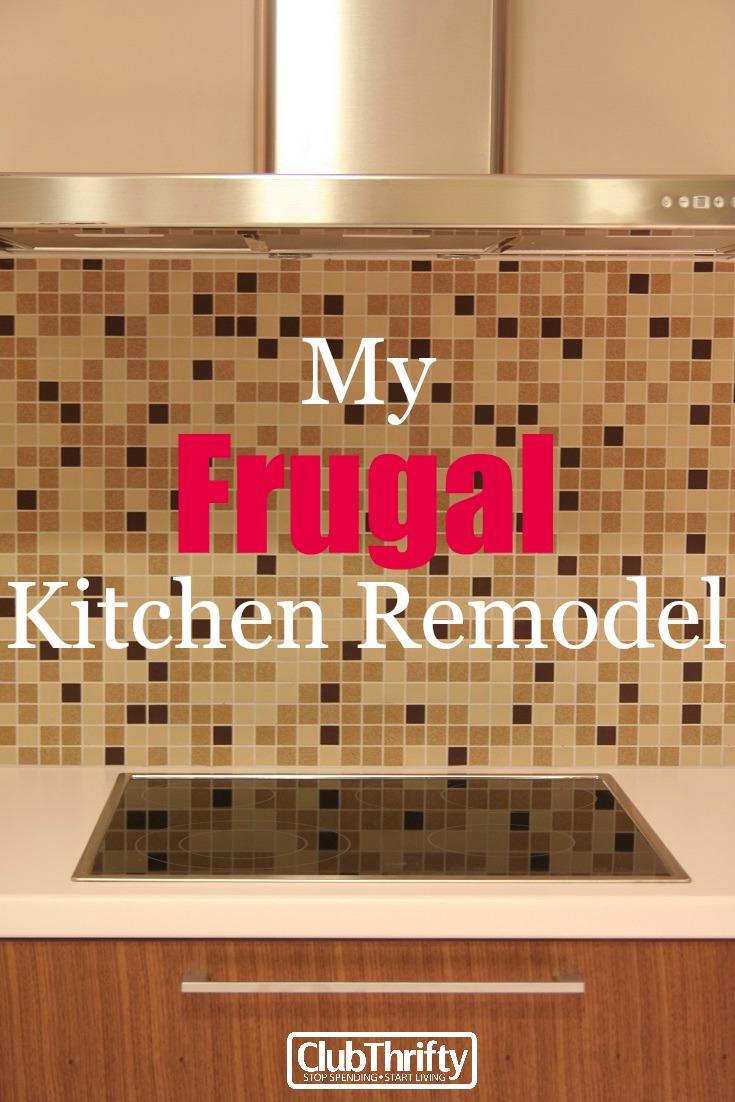 Frugal Kitchen Remodel