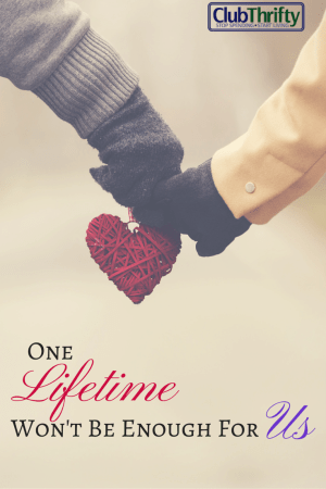 Today marks the ten-year anniversary of when I met my husband and fell in love at first sight. Read why one lifetime won't be enough for us.