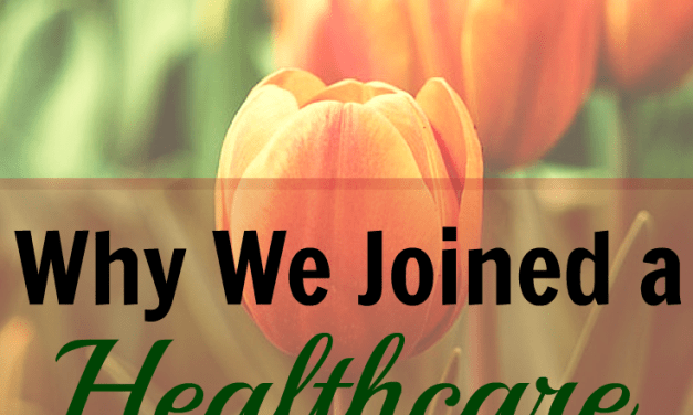 Why We're Joining a Healthcare Sharing Ministry