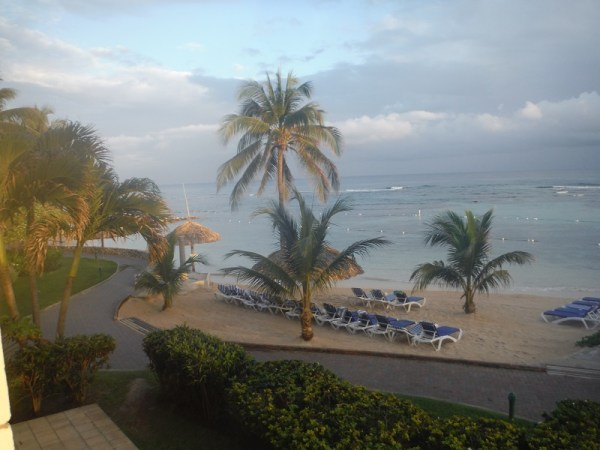 The view from our room....