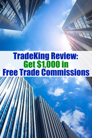 In terms of value, TradeKing is hard to beat. Learn how to get $4.95 trades and $1,000 in free trading commissions inside our TradeKing review!