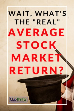 Don't get fooled! This is a wonderful explanation of why average annual stock market returns are misleading and what you should use instead.