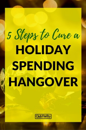 Admit it: You've been naughty over the holidays. We've got the cure for your holiday hangover here. Get your money back on track in 5 easy steps.