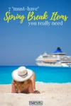 "Spring break is almost here and I can't wait! Here are 7 ""must-have"" items I take with me during every trip to the beach. Enjoy and happy travels!"