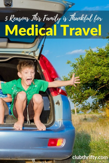 This family is forced to travel do to a rare medical condition, but their medical travel isn't all bad. Here's why they're thankful for it!