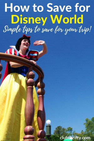 Are you saving for a trip to Disney World? A Disney Vacation Account is no longer an option. Here's how to build your own Disney savings account instead!