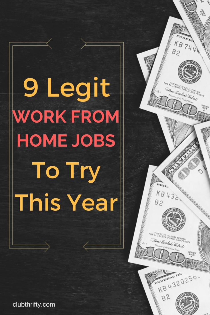 legitimate work from home business 9 legitimate work from home jobs for 2018 club thrifty 9953
