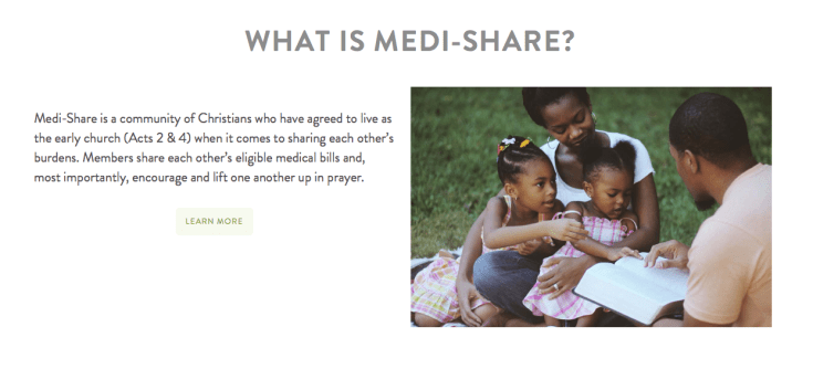 What is Medishare?
