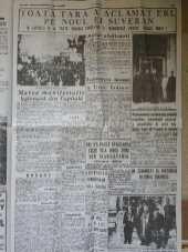 Timpul 8 Septembrie 1940 - Abdicarea Regelui Carol Al 2 -lea Juramantul Regelui Mihai 4