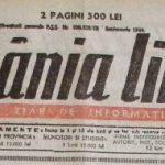 România Liberă interbelic