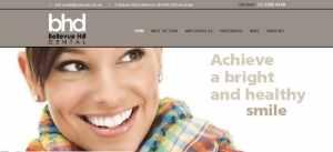 dental website design inspiration