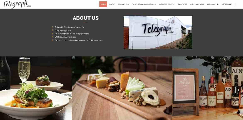 telegraph hotel example