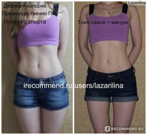 Упражнения вакуум для живота отзывы с фото до и после ...