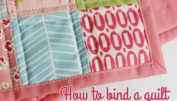Machine Binding Tutorial | Cluck Cluck Sew : applying quilt binding - Adamdwight.com