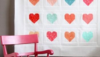 Making Heart Blocks in Multiple Sizes | Cluck Cluck Sew : heart quilt blocks - Adamdwight.com