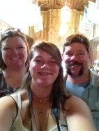 Family Selfie in the Castle