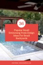 36 Popular Small Swimming Pools Design Ideas For Small Backyards